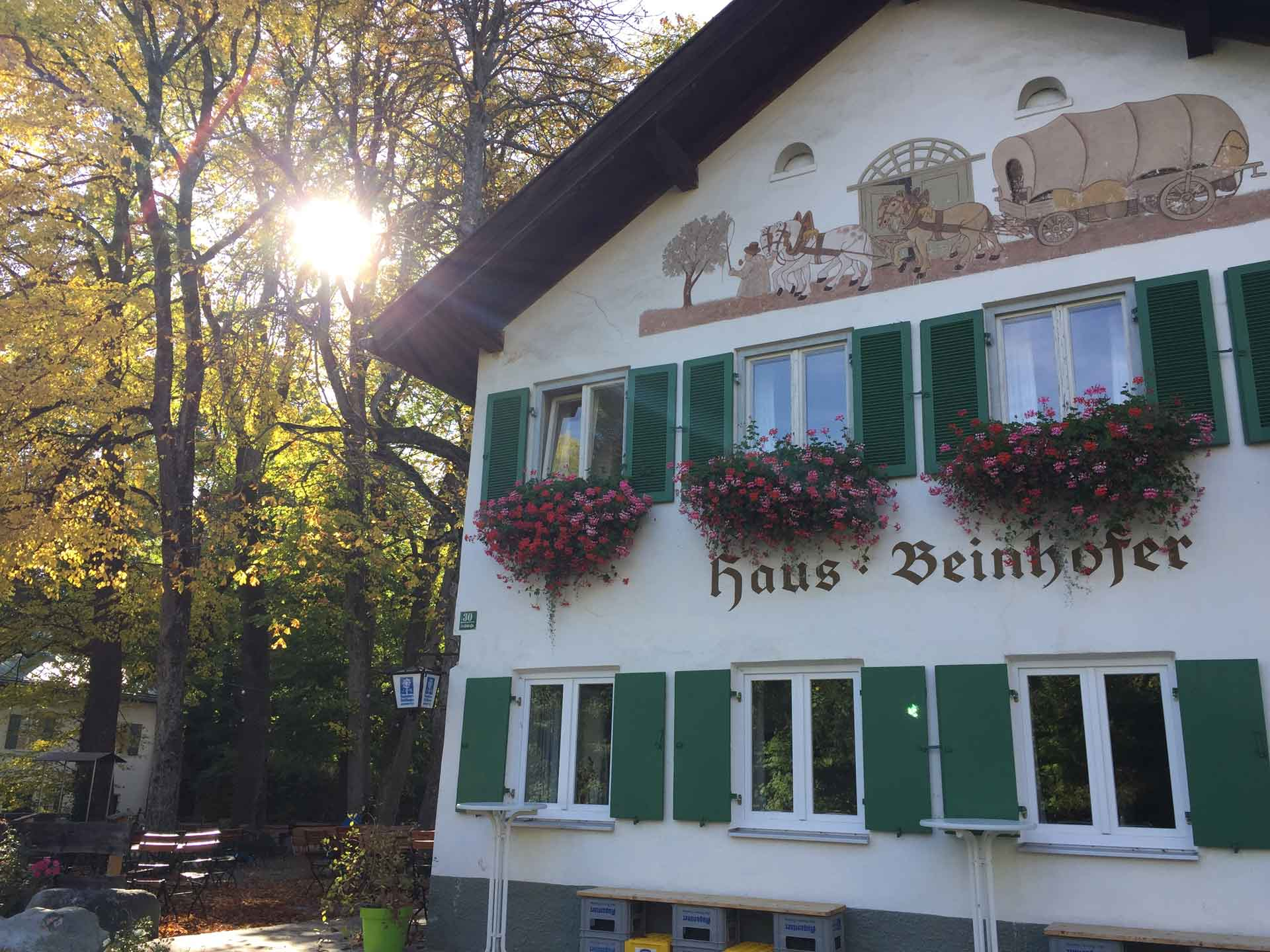 Zum Beinhofer Murnau - Wirtshaus Biergarten Pension in Murnau am Staffelsee
